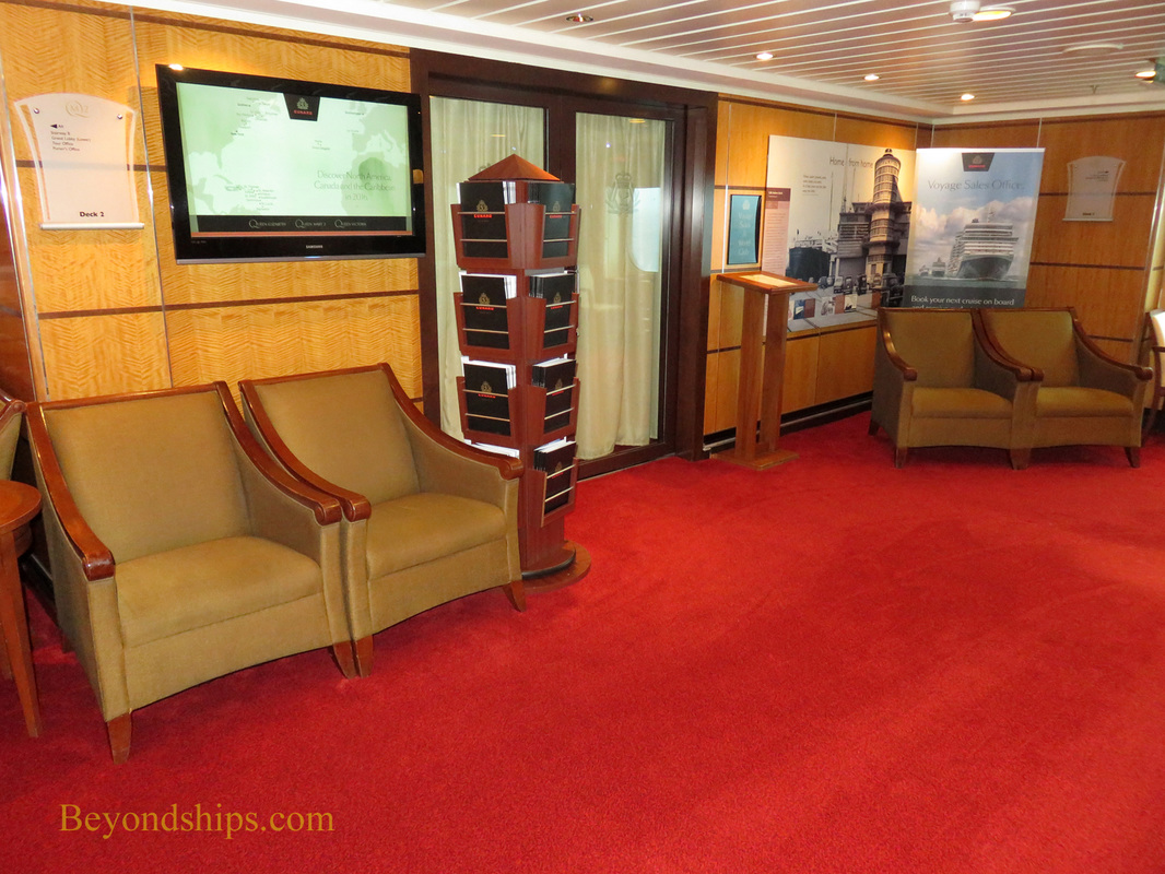 Queen Mary 2, Future cruise office