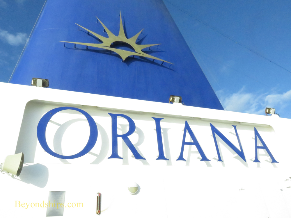Cruise ship Oriana,