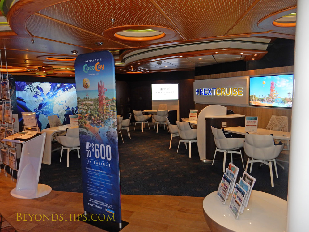 Cruise ship Mariner of the Seas, next cruise office