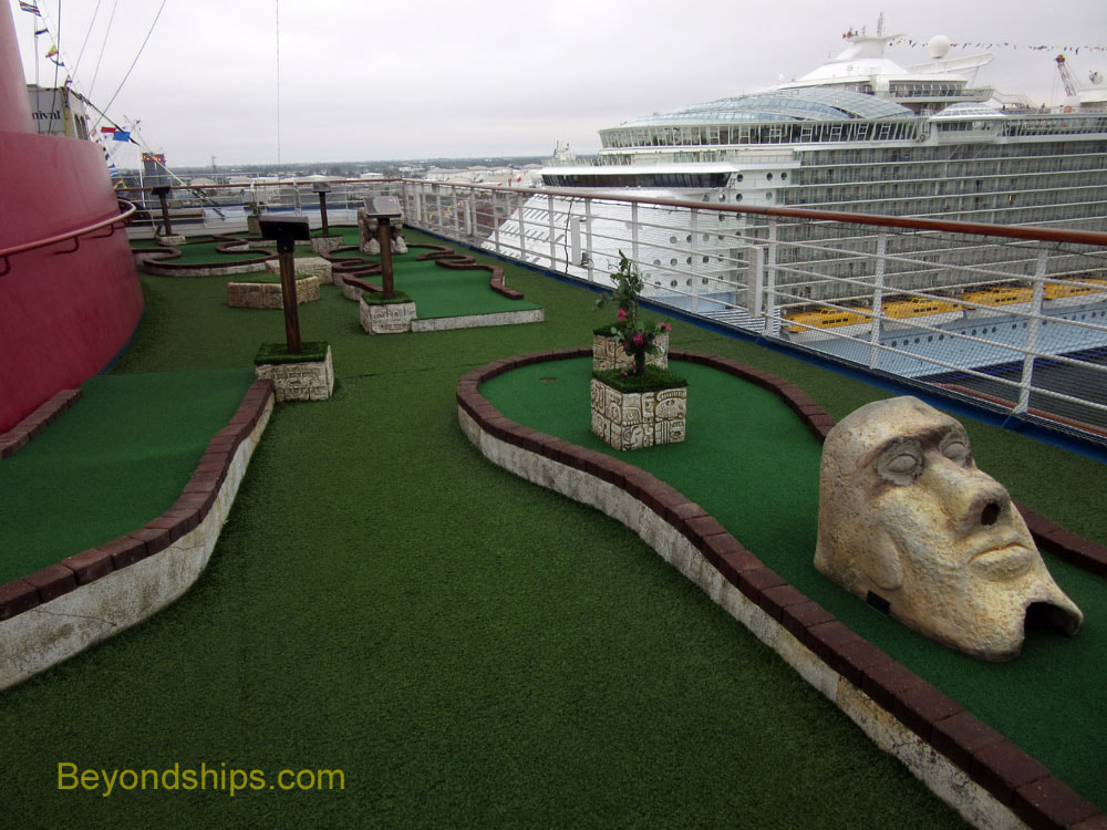 Navigator of the Seas, sports facilities