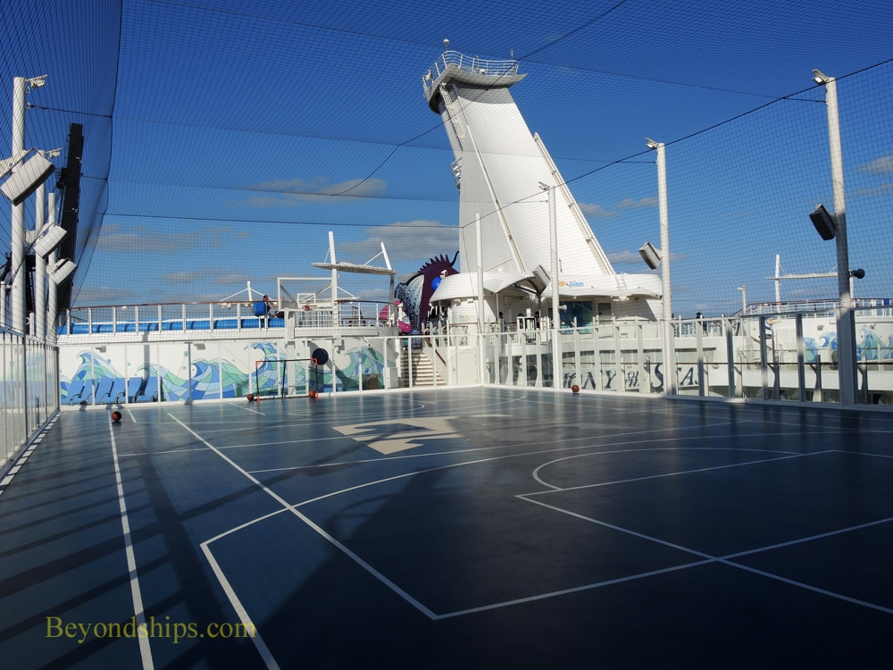 Harmony of the Seas, sports court