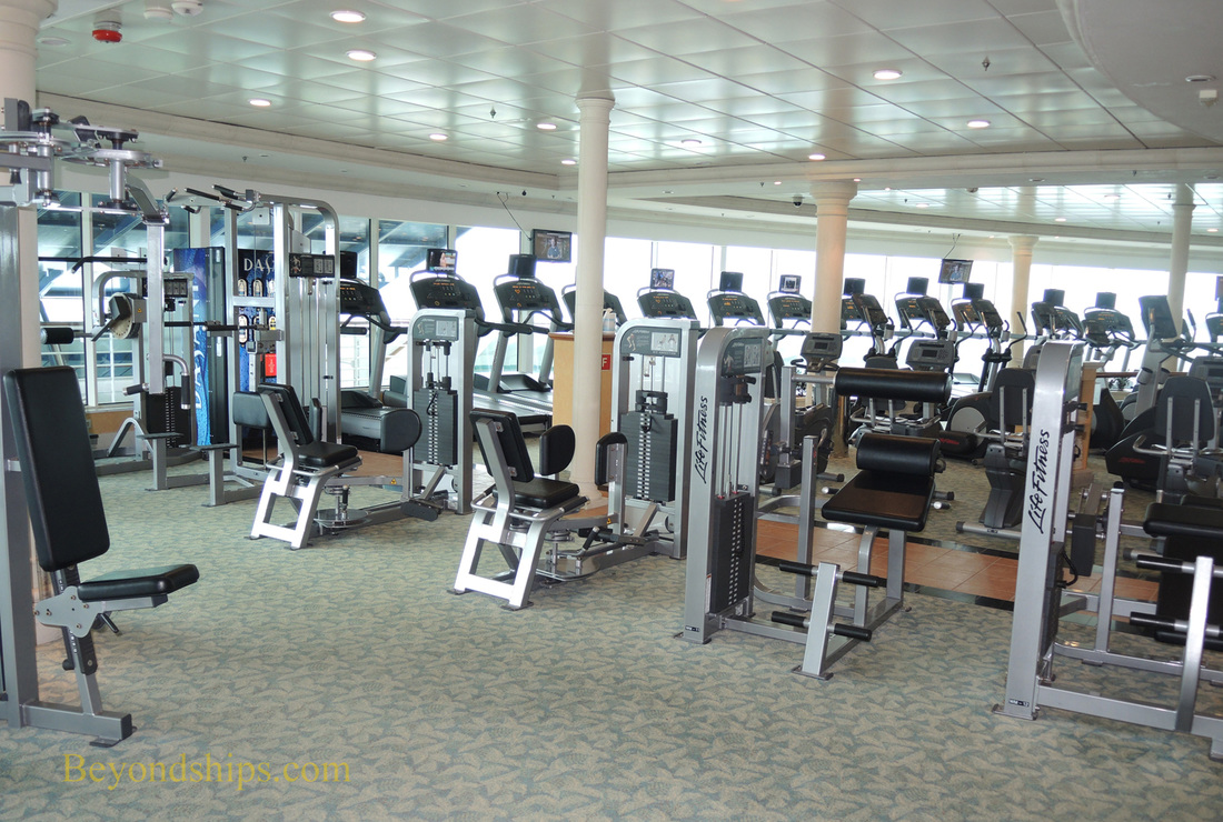 Cruise ship Navigator of the Seas, fitness center