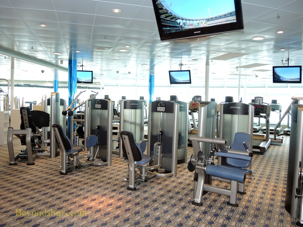 Freedom of the Seas, cruise ship, fitness center