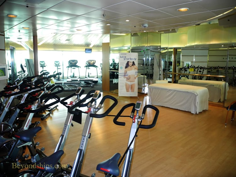 Enchantment of the Seas, gym
