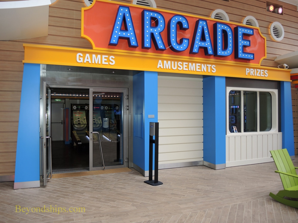 Harmony of the Seas arcade
