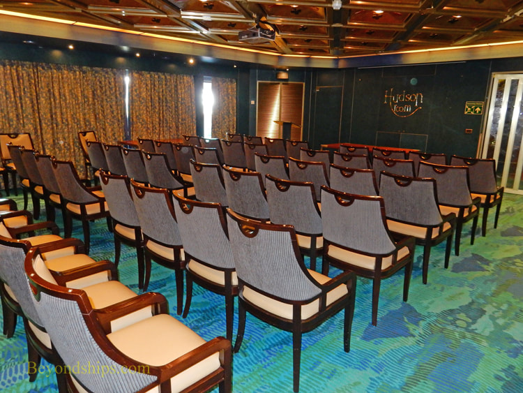 Oosterdam cruise ship, conference room