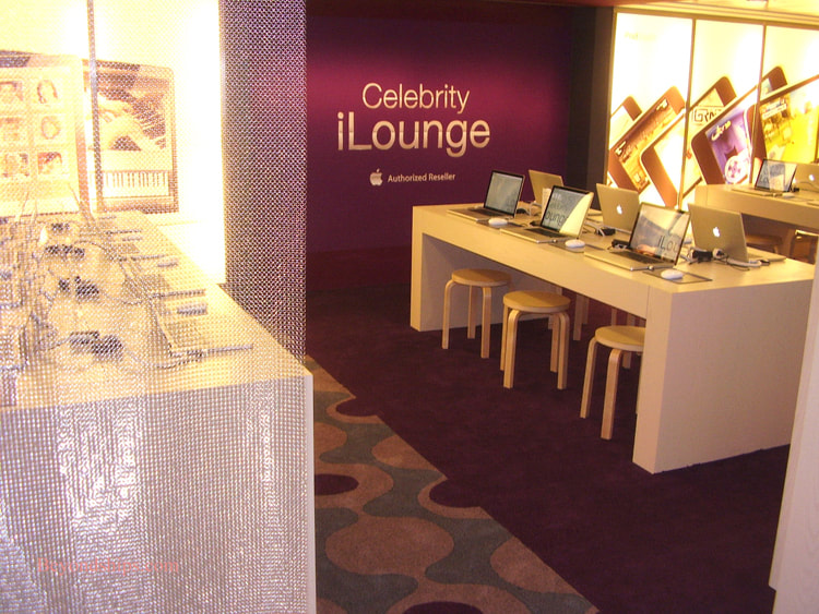 Celebrity Summit cruise ship Celebrity iLounge