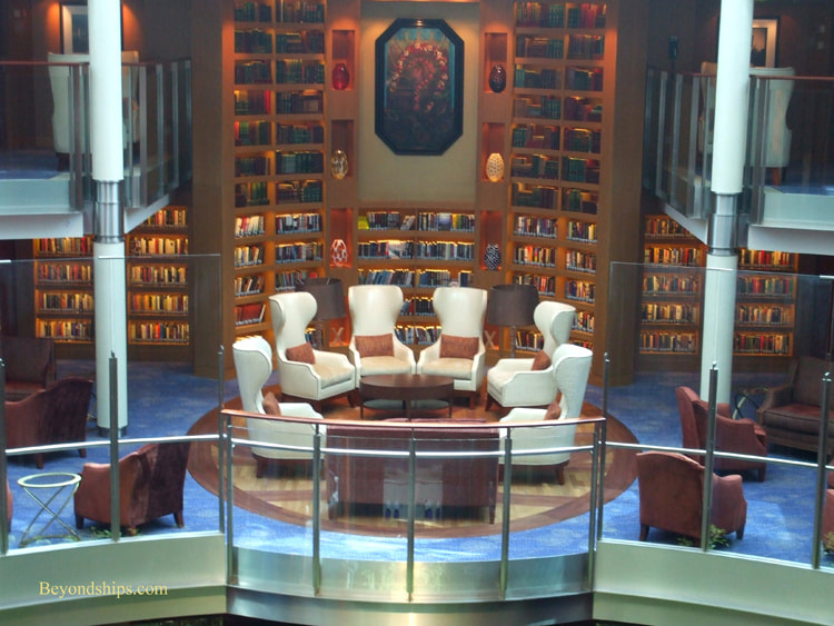 Celebrity Summit cruise ship library