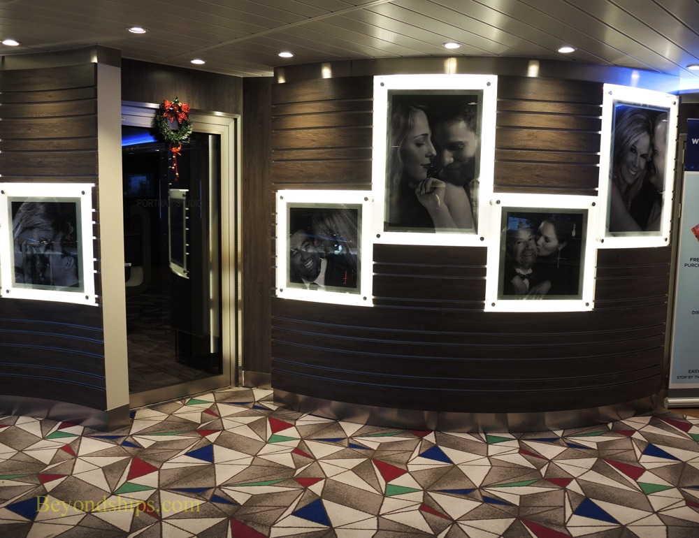 Harmony of the Seas photo studio