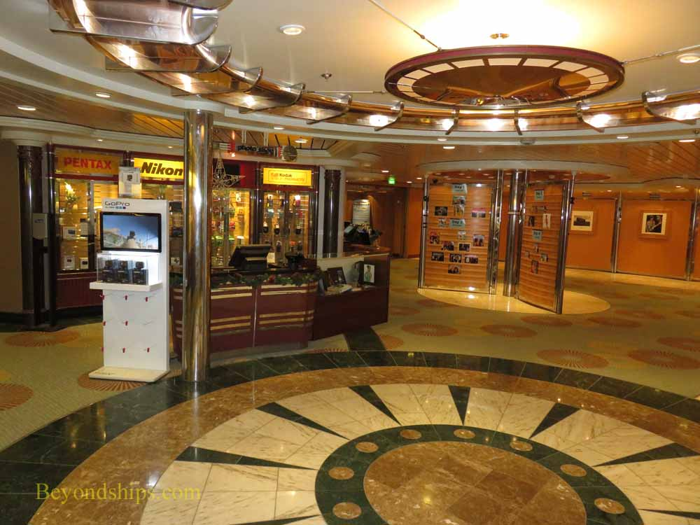 Enchantment of the Seas, cruise ship, shops and public areas