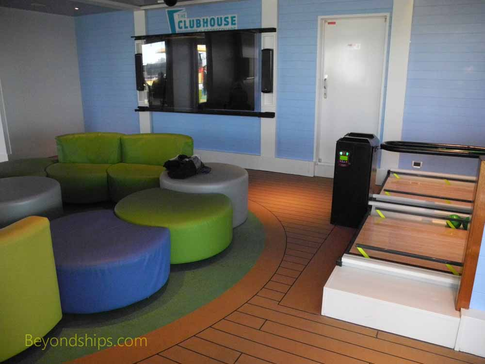 Children's area, Carnival Vista, cruise ship