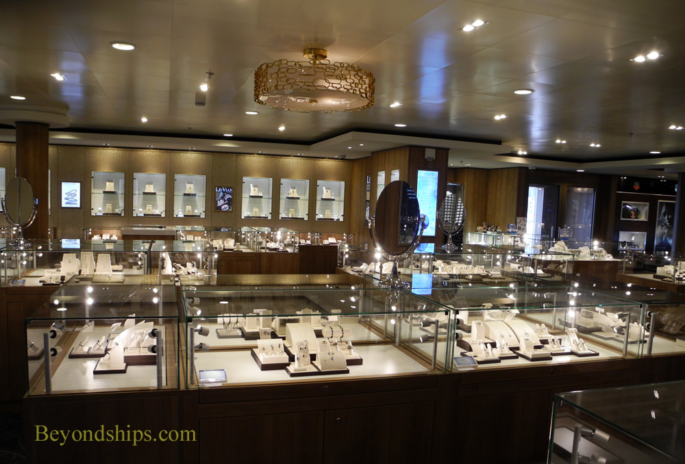 Celebrity Summit cruise ship shops