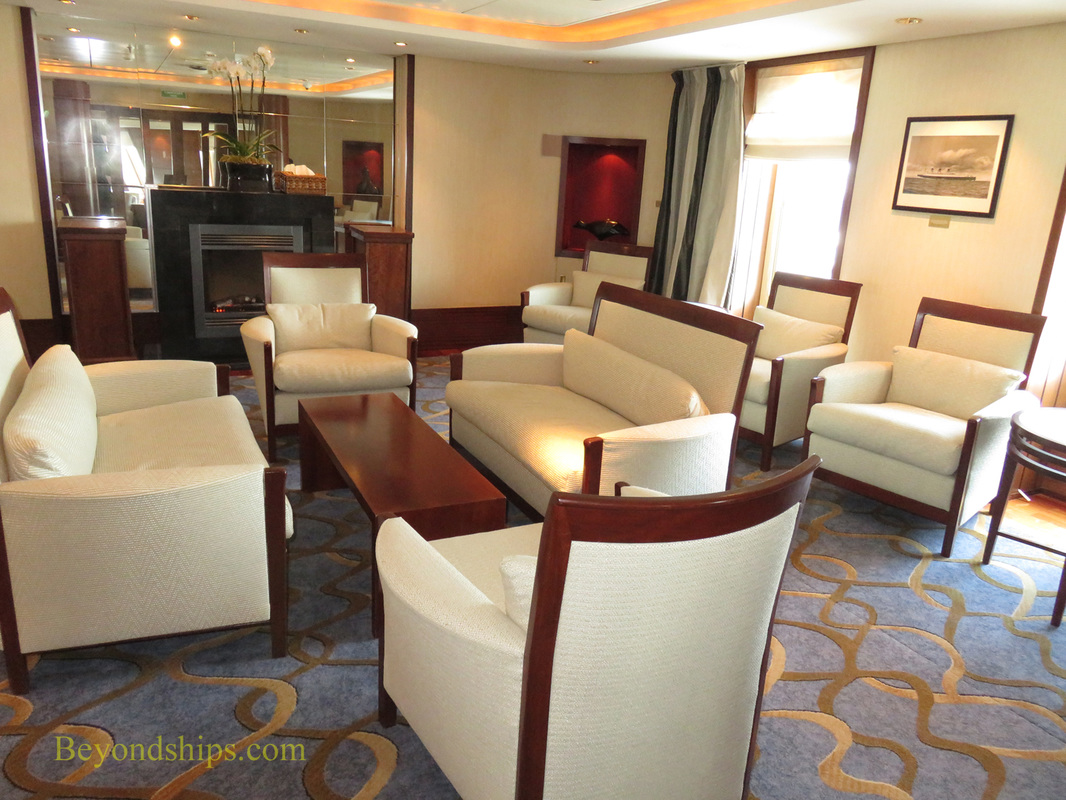 Queen Mary 2, bars and lounges