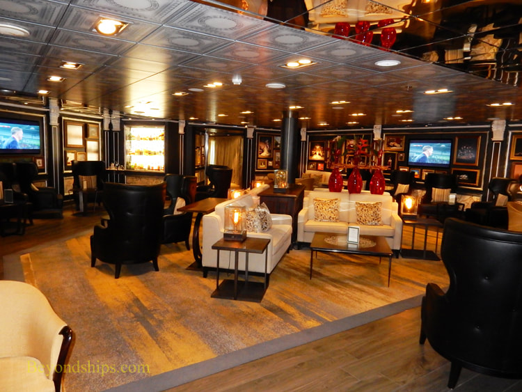 Cruise ship Oosterdam bars and lounges