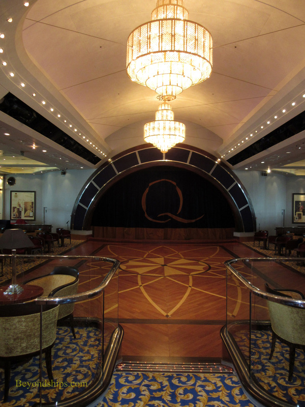 Queen Mary 2, Queens Room