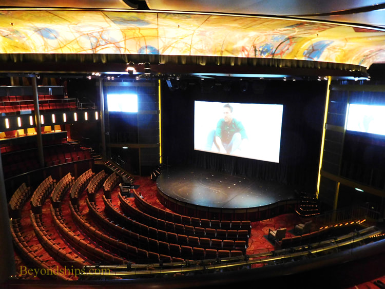 Cruise ship Celebrity Reflection theater
