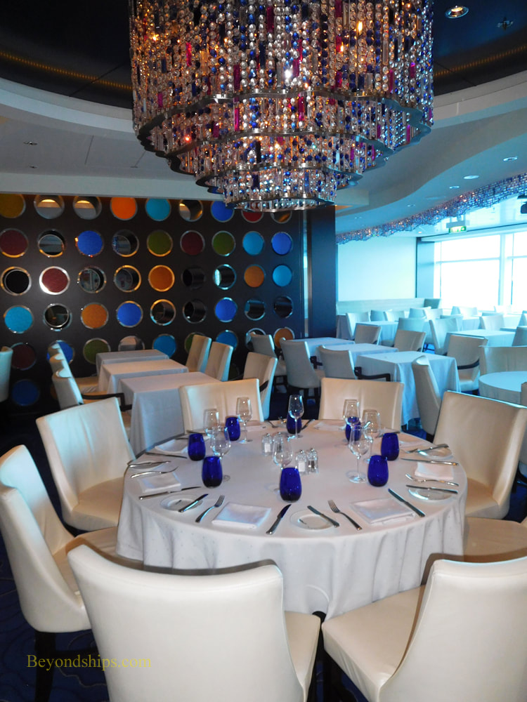 Picture Cruise ship Celebrity Reflection Blu restaurant