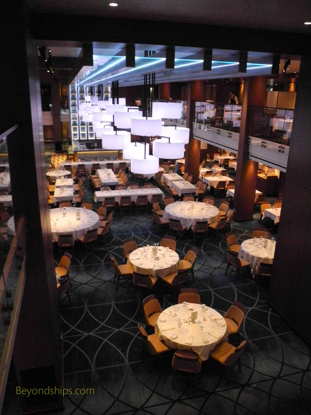 Carnival Vista, cruise ship, Horizons Dining Room