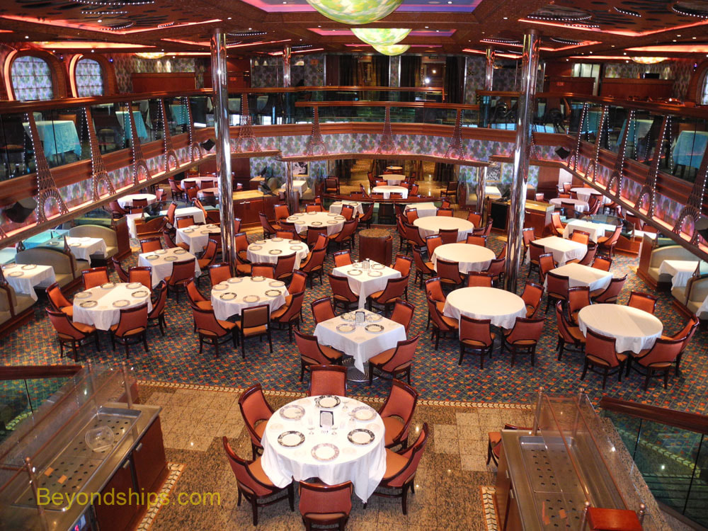 Celebrity Summit, main dining room