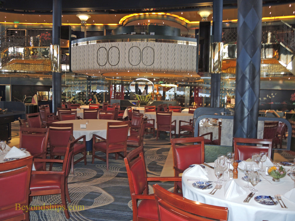 Cruise ship Rotterdam, Dining Room