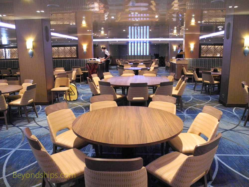 Reflections Dining Room, Carnival Vista, cruise ship
