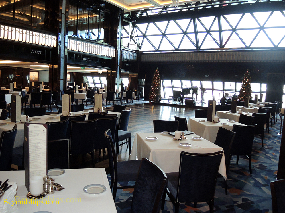 Picture cruise ship Norwegian Escape, main dining rooms