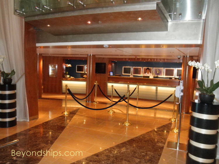 Cruise ship Celebrity Constellation guest relations