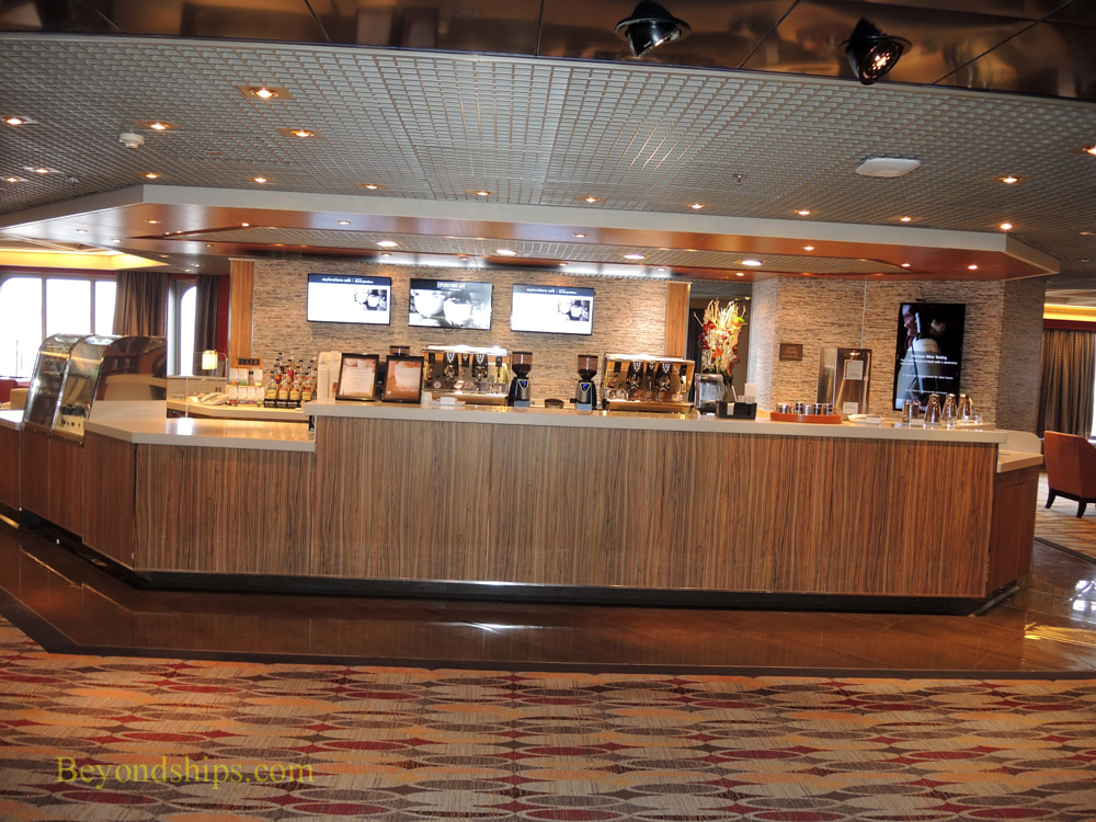 Cruise ship Rotterdam dining venues
