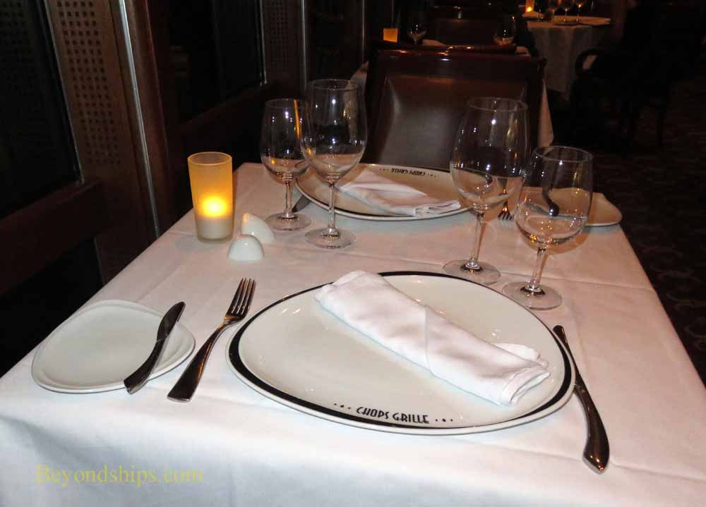 Enchantment of the Seas cruise ship, specialty dining