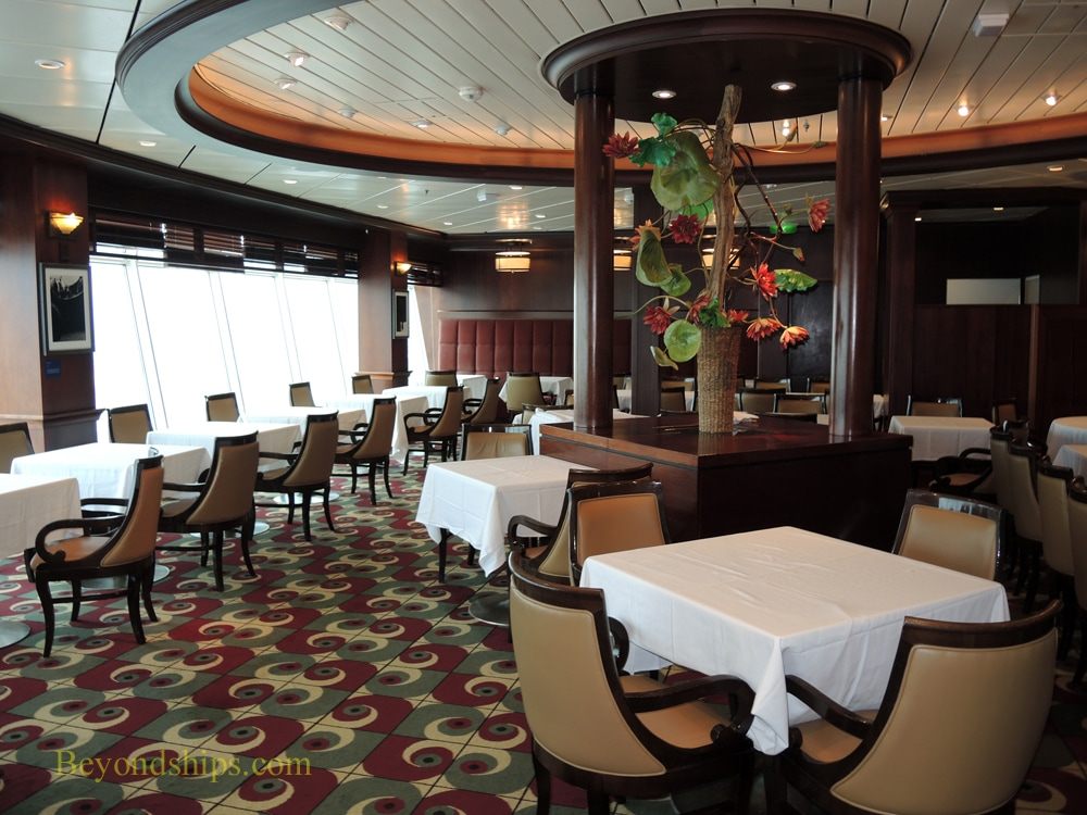 Freedom of the Seas cruise ship, chops grille
