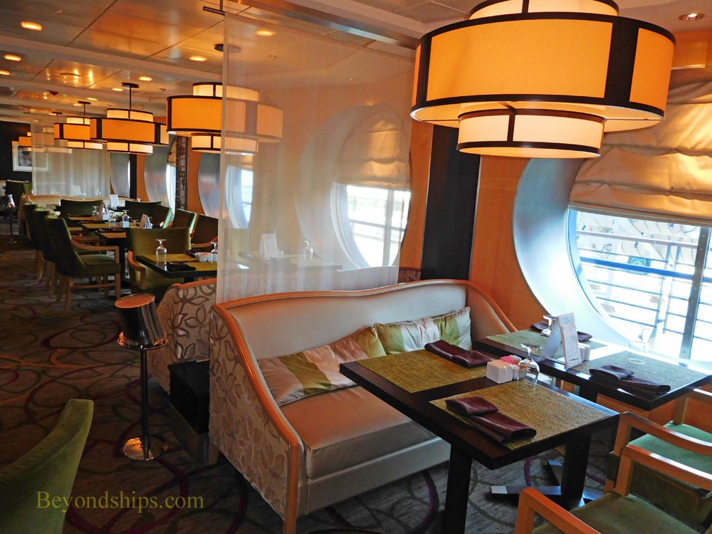 Cruise ship Celebrity Constellation specialty restaurant