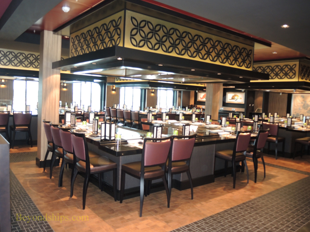 Norwegian Escape specialty restaurants