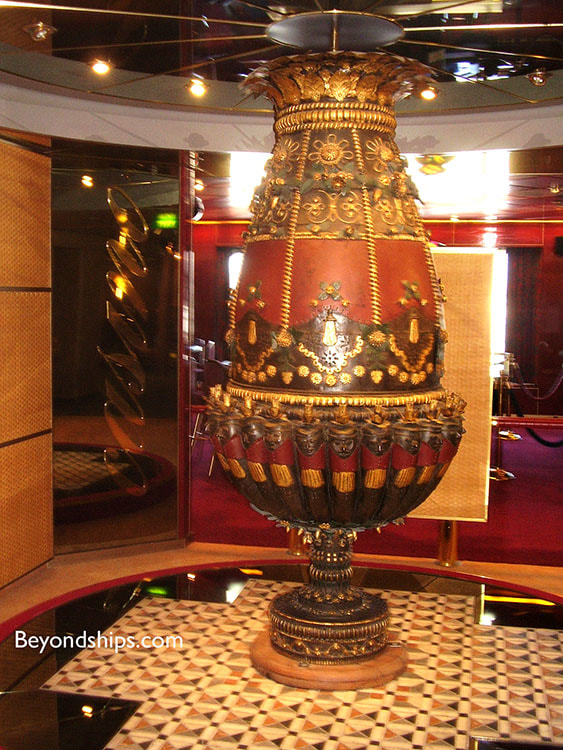 Cruise ship Veendam interior