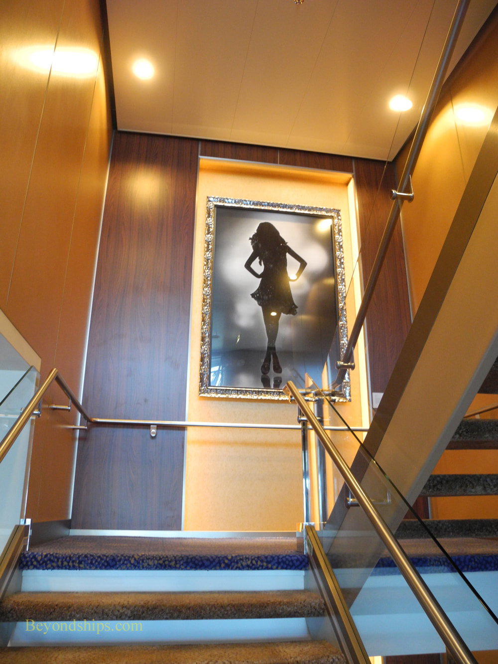 Cruise ship Celebrity Reflection art collection
