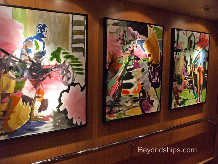 Independence of the Seas cruise ship, art collection