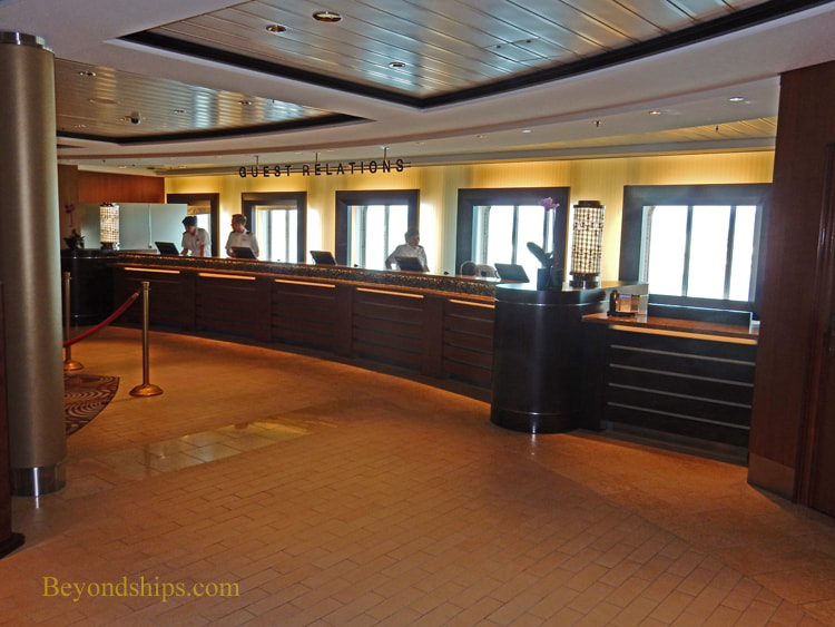 Cruise ship Celebrity Reflection interior