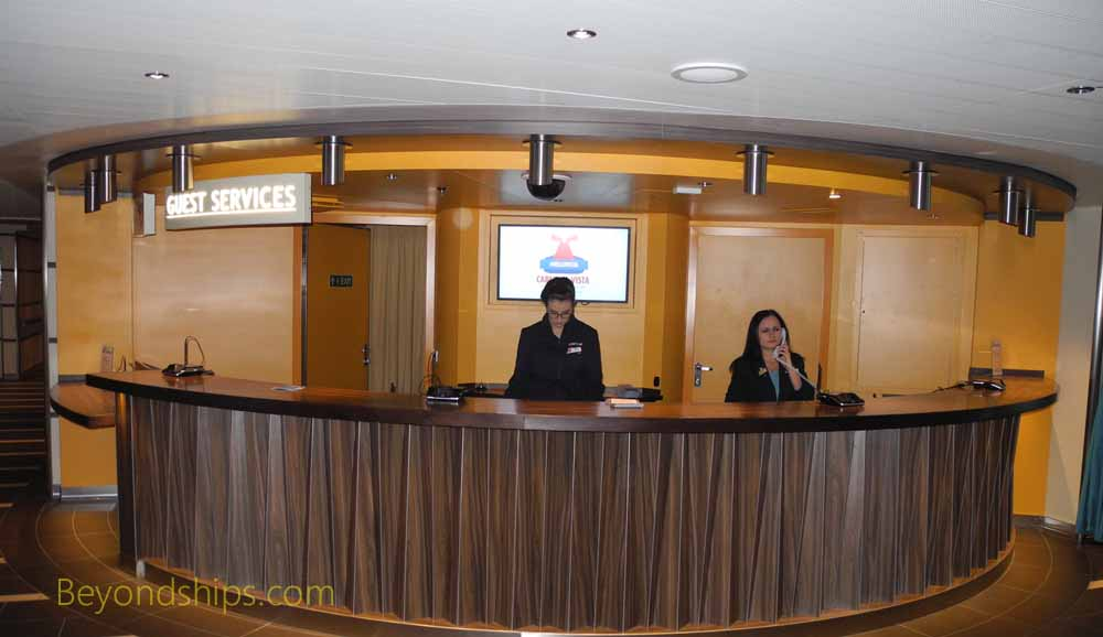 Harmony of the Seas, Guest Services