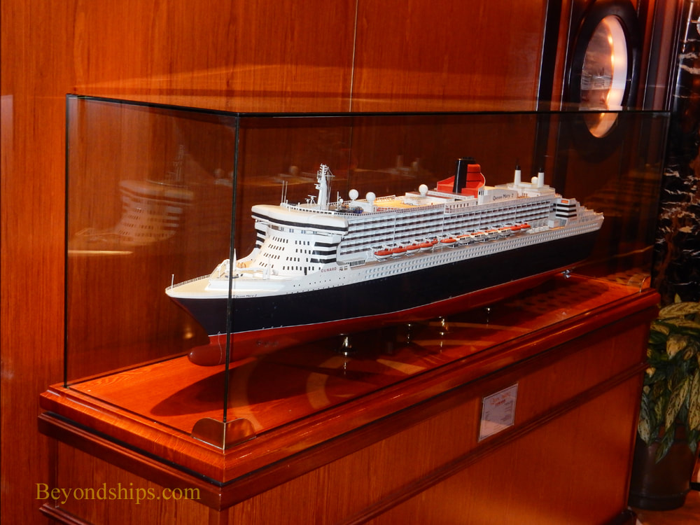 Cruise ship Queen Elizabeth, ship model