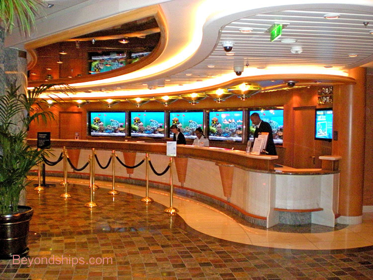 Independence of the Seas cruise ship, guest services