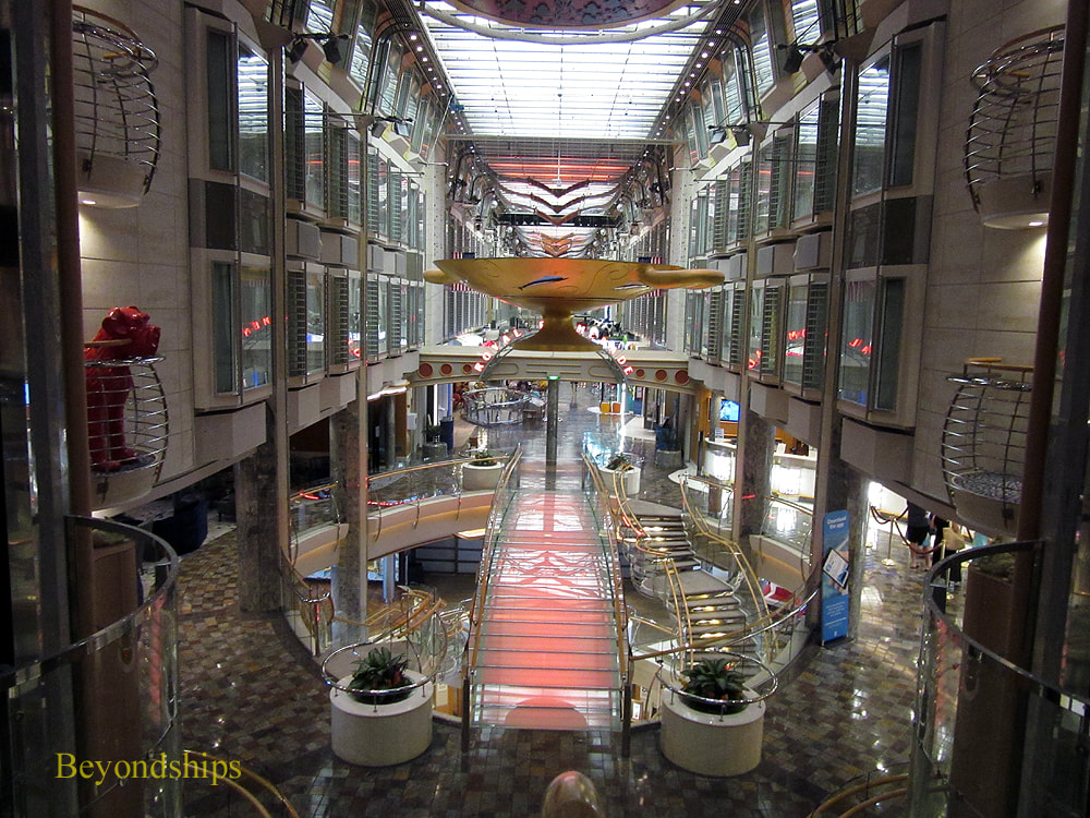 Independence of the Seas cruise ship, Royal Promenade