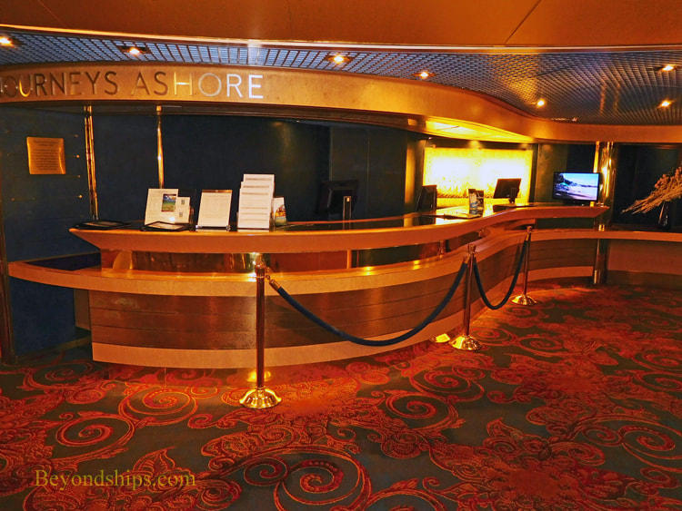 Cruise ship Oosterdam, shore excursions