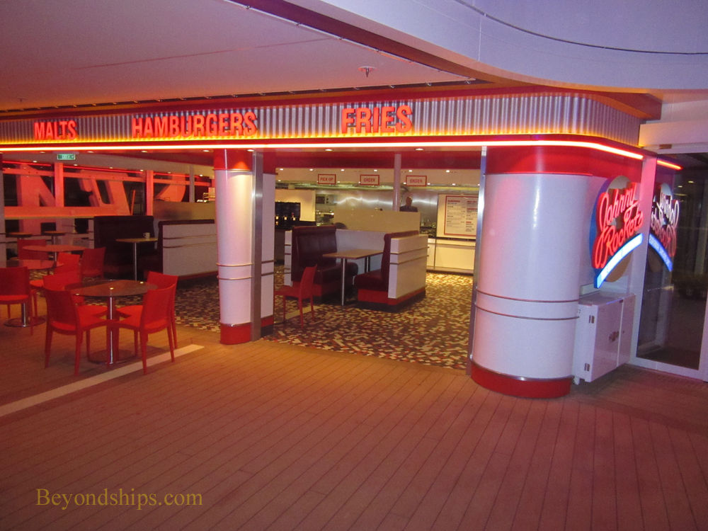 Anthem of the Seas, Johnny Rockets