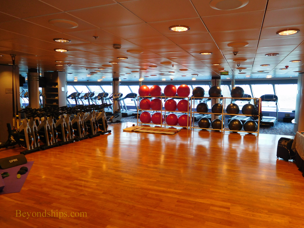 Cruise ship Celebrity Constellation fitness center