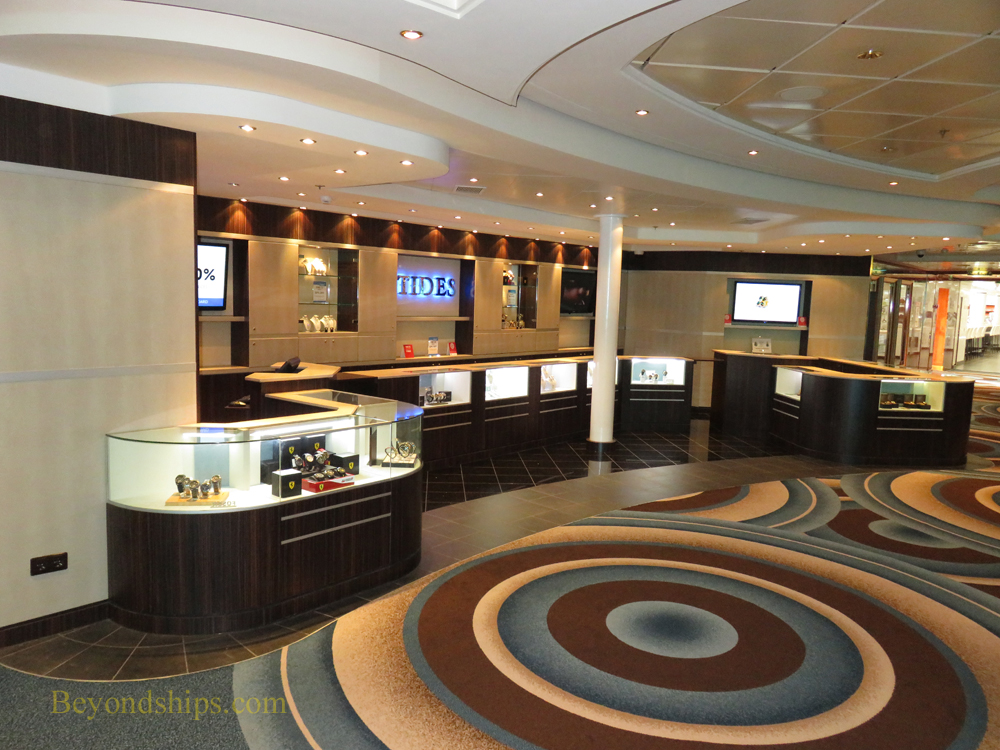 Norwegian Gem, shops