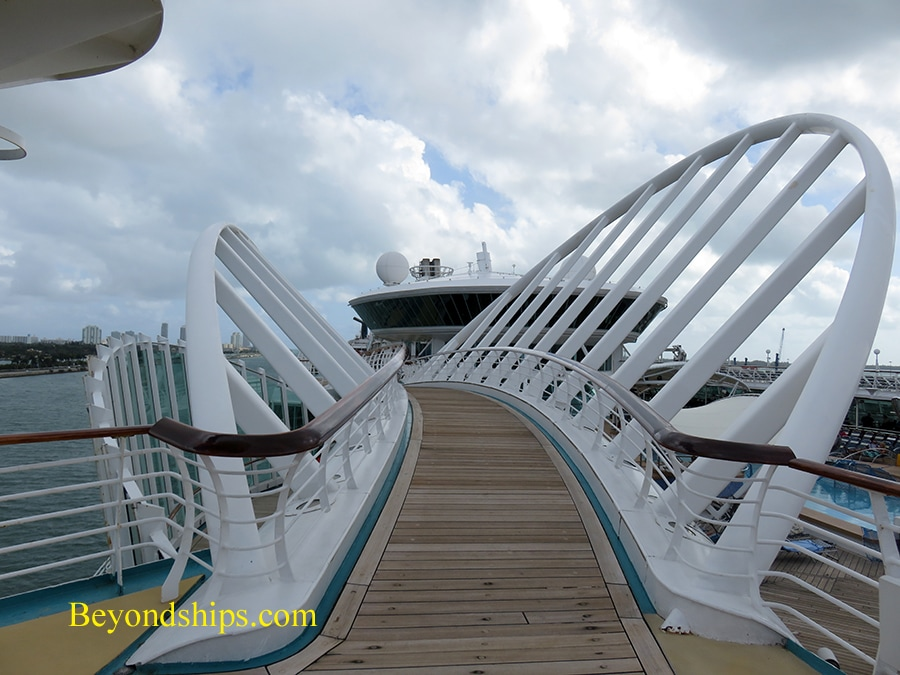 Enchantment of the Seas, cruise ship, pools and sports