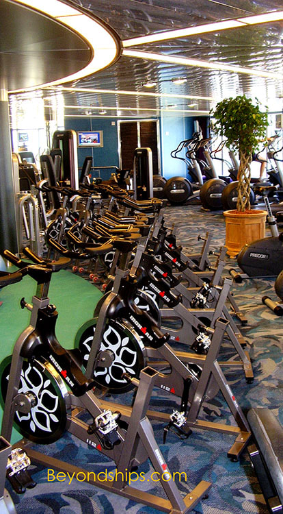 Cruise shipNoordam fitness center