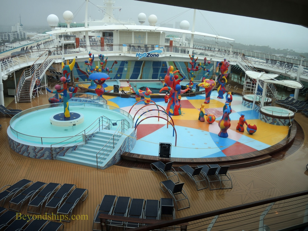 Cruise ship Freedom of the Seas, H2O zone