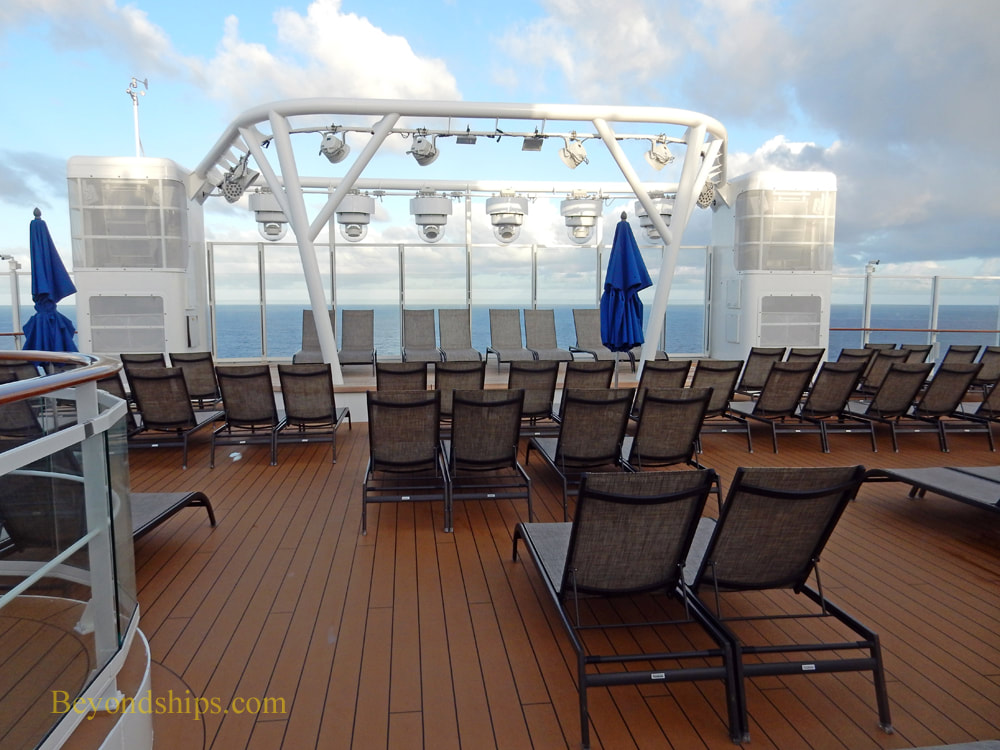 Norwegian Bliss Spice H2O deck area