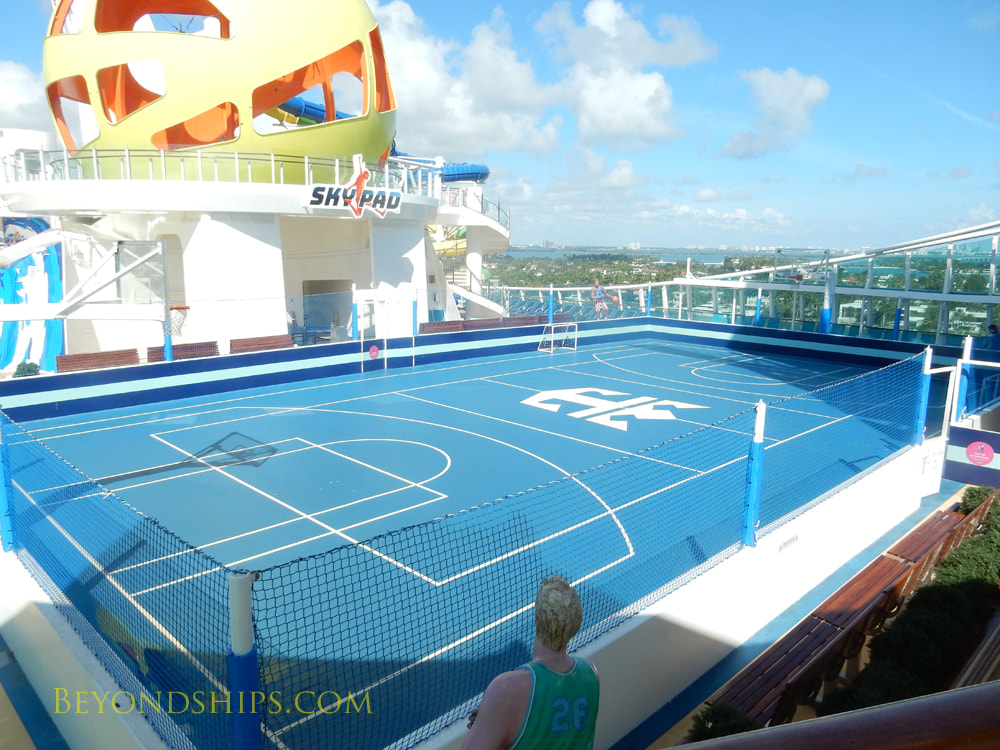 Mariner of the Seas, sports facilities