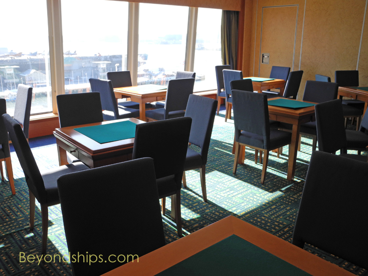 Norwegian Gem, card room